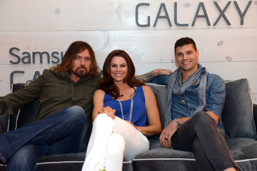 Billy Ray Cyrus Samsung Galaxy Artist Lounge