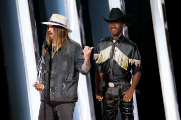 Billy Ray Cyrus Lil Nas X The 53rd Annual CMA Awards - Show