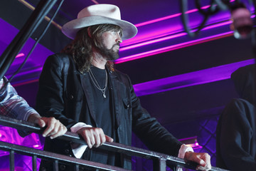 Billy Ray Cyrus Noah Cyrus MTV & Taco Bell Present Best New Artist Night for VMA Weekend