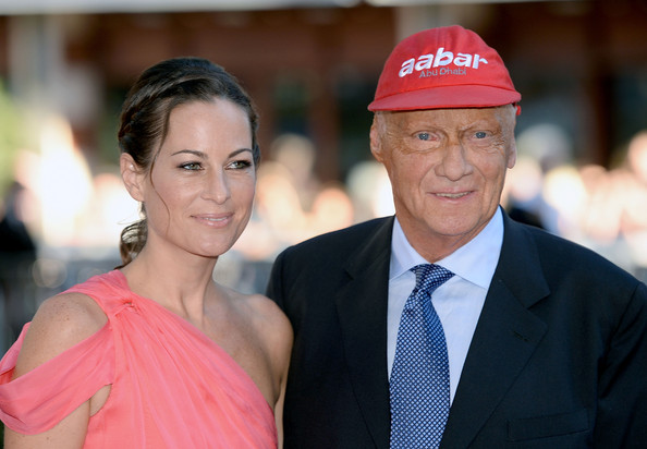 Niki and his current wife Brigit