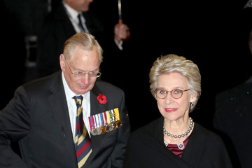 Birgitte The Queen And Members Of The Royal Family Attend The Royal British Legion Festival Of Remembrance