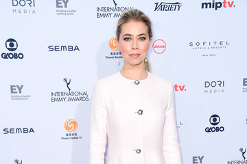 Birgitte Hjort Sorensen 44th International Emmy Awards - Arrivals