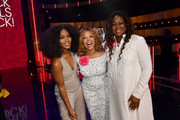 Angela Bassett, Lucy McBath, and Sybrina Fulton attend Black Girls Rock 2019 Hosted By Niecy Nash at NJPAC on August 25, 2019 in Newark, New Jersey.