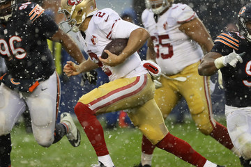 Blaine Gabbert San Francisco 49ers v Chicago Bears