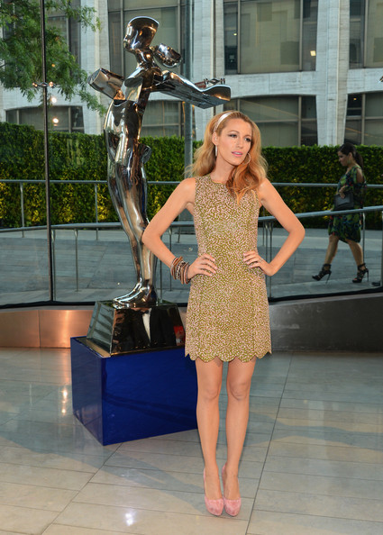 Blake Lively - Cocktails at the CFDA Fashion Awards