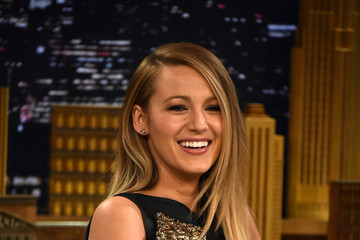 Blake Lively Blake Lively Visits 'The Tonight Show Starring Jimmy Fallon'