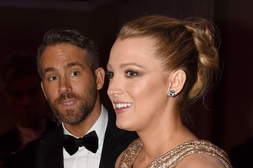 Blake Lively 74th Annual Golden Globe Awards - Cocktail Reception