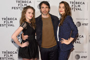 """Nadia Alexander, Chris Messina and Quinn Shephard attend the """"Blame"""" Premiere during 2017 Tribeca Film Festival at Cinepolis Chelsea on April 22, 2017 in New York City."""