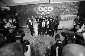 Blanca Araceli The U.S. Premiere of Disney-Pixar's 'Coco'