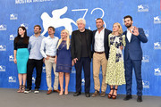 Christa Campbell, guest, director Philippe Falardeau, producer Lady Monika Bacardi, Avi Lerner, Liev Schreiber, Naomi Watts and Andrea Iervolino attend a photocall for 'The Bleeder' during the 73rd Venice Film Festival at Palazzo del Casino on September 2, 2016 in Venice, Italy.