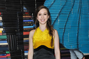 """Taissa Farmiga attends a pre-reception for the Los Angeles special screening of """"What They Had"""" at iPic Westwood on October 9, 2018 in Westwood, California."""