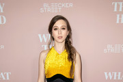 """Taissa Farmiga attends Bleeker Street Presents Los Angeles Special Screening Of """"What They Had"""" at iPic Westwood on October 9, 2018 in Westwood, California."""