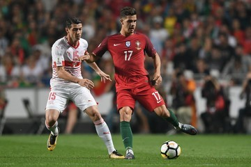 Blerim Dzemaili Portugal v Switzerland - FIFA 2018 World Cup Qualifier