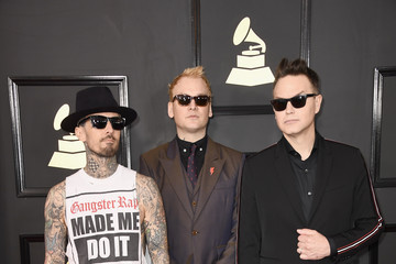 Blink 182 The 59th GRAMMY Awards - Arrivals