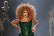 Lion Babel walks the runway for the The Blonds fashion show during New York Fashion Week: The Shows at Gallery I at Spring Studios on February 12, 2019 in New York City.
