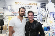 Nyle DiMarco and Bruce Bozzi attend the Bloomingdale's Century City Launches Good For The Globe at Bloomingdale's on March 21, 2019 in Century City, California.