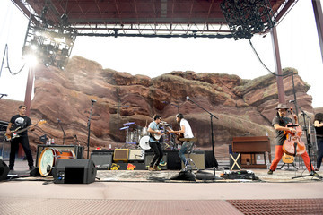 Bob Crawford The Avett Brothers Perform At Red Rocks Amphitheatre