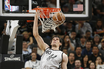 Boban Marjanovic Memphis Grizzlies v San Antonio Spurs - Game One