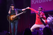 Luke Bryan and Bobby Bones perform at the Bobby Bones And The Raging Idiots 4th Annual Million Dollar Show at Ryman Auditorium on January 14, 2019 in Nashville, Tennessee.