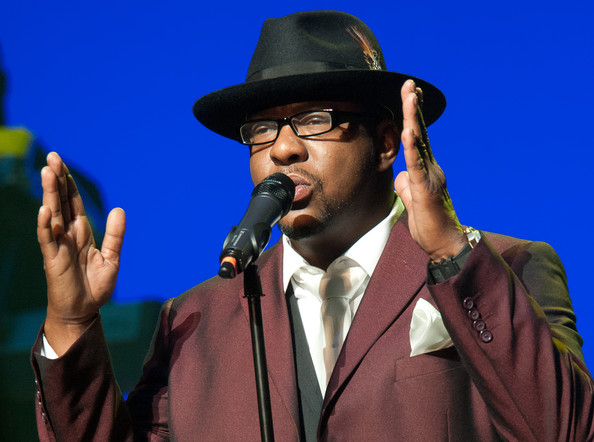 Bobby Brown Bobby Brown performs at NJPAC ? Prudential Hall on February 19, 2012 in Newark, United States.