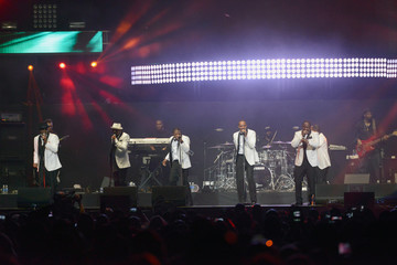 Bobby Brown Ronnie DeVoe Performances at the BET Experience in LA