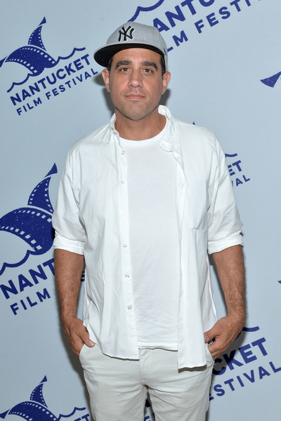 2017 Nantucket Film Festival - Day 2 [event,facial hair,performance,t-shirt,shoes,tom mccarthy bobby cannavale,nantucket,massachusetts,nantucket film festival]