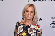 "Kerry Kennedy attends ""Bobby Kennedy For President"" Red Carpet Premiere during 2018 Tribeca Film Festival at SVA Theater on April 25, 2018 in New York City."