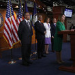 Bobby Scott House Minority Leader Nancy Pelosi Along With Democratic Reps. Unveil Comprehensive Debt-Free College Plan