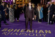 Joe Mazzello attends the World Premiere of 'Bohemian Rhapsody' at SSE Arena Wembley on October 23, 2018 in London, England.