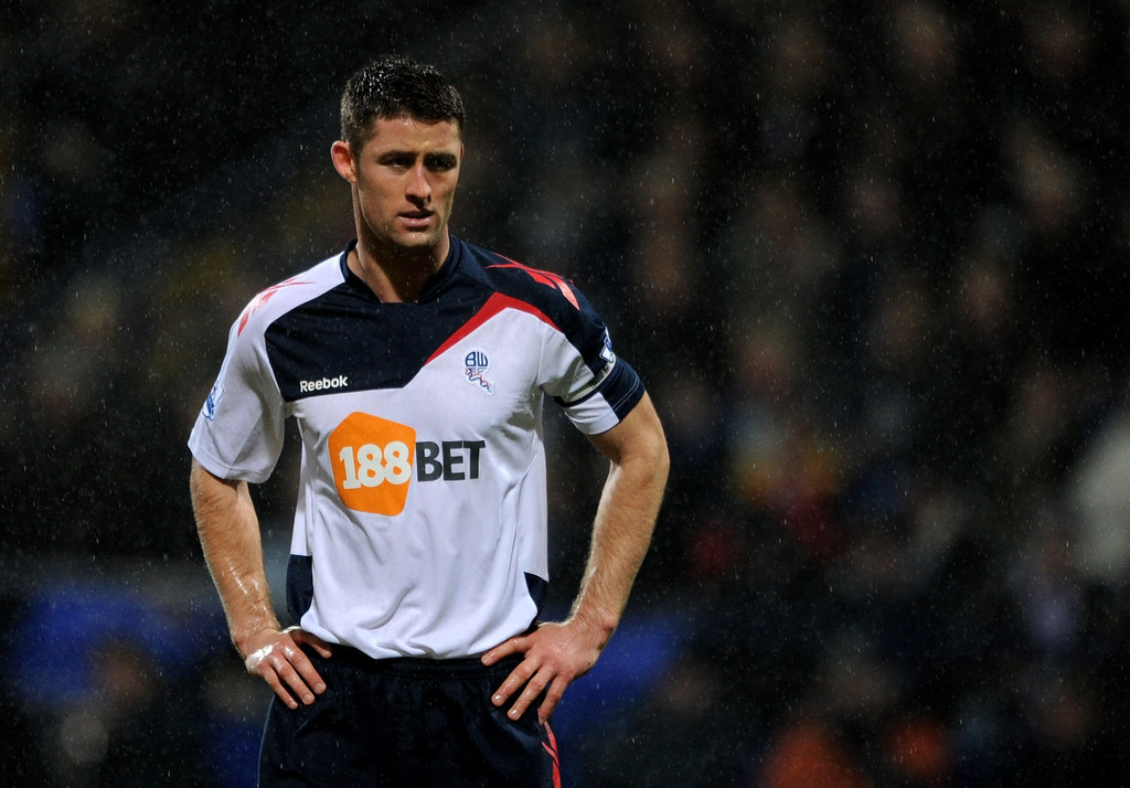 Gary Cahill In Bolton Wanderers V Wolverhampton Wanderers