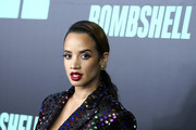 "Dascha Polanco attends ""Bombshell"" New York screening at Jazz at Lincoln Center on December 16, 2019 in New York City."
