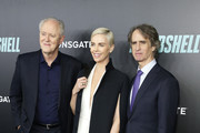 """(L-R) John Lithgow, Charlize Theron and Director Jay Roach attend the """"Bombshell"""" New York Screening at Jazz at Lincoln Center on December 16, 2019 in New York City."""