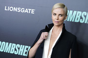 """Charlize Theron attends the """"Bombshell"""" New York Screening at Jazz at Lincoln Center on December 16, 2019 in New York City."""