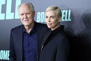 """John Lithgow and Charlize Theron attend """"Bombshell"""" New York screening at Jazz at Lincoln Center on December 16, 2019 in New York City."""