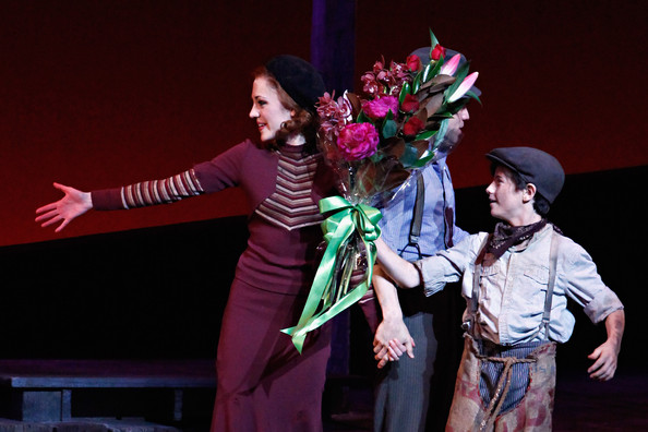 laura osnes in quotbonnie amp clydequot broadway opening night