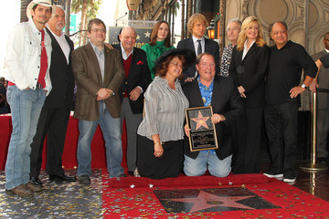 Bonnie Hunt John Lasseter Honored On The Hollywood Walk Of Fame