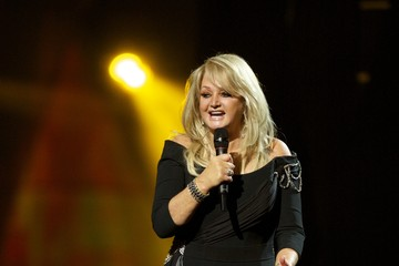Bonnie Tyler Dress Rehearsals at the Eurovision Song Contest