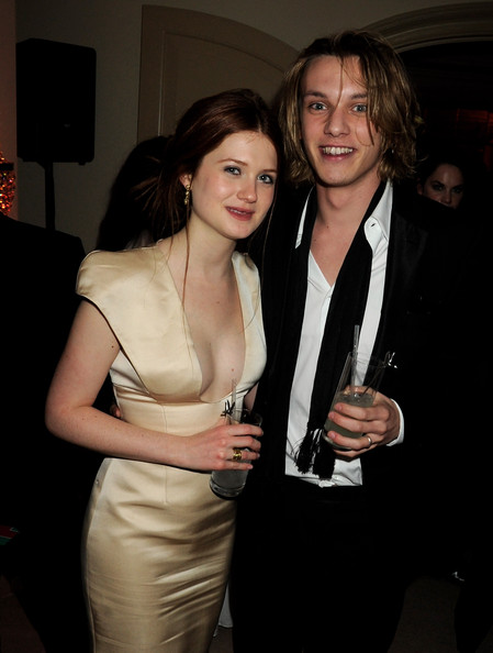 ... this photo bonnie wright jamie campbell bower bonnie wright and jamie
