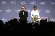 Bono Speaks At The Economic Club Of Chicago Dinner Meeting