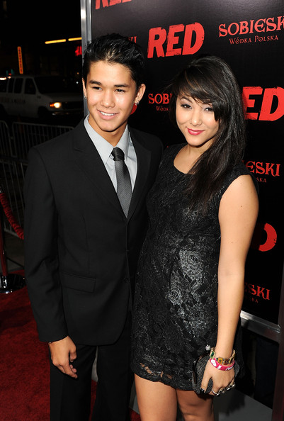 Boo Boo Stewart Actors BooBoo Stewart and Fivel Stewart arrive at a special screening of Summit Entertainment's