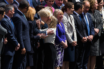 Boris Johnson The Prime Minister Introduces His New Members of Parliament