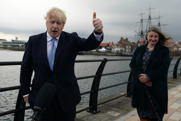 Boris Johnson European Best Pictures Of The Day - May 07