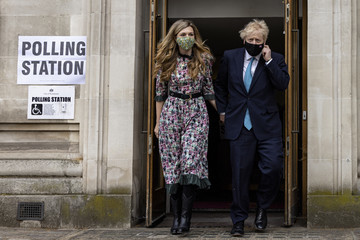 Boris Johnson European Best Pictures Of The Day - May 06