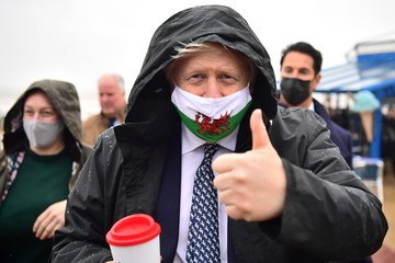 Boris Johnson European Best Pictures Of The Day - May 04