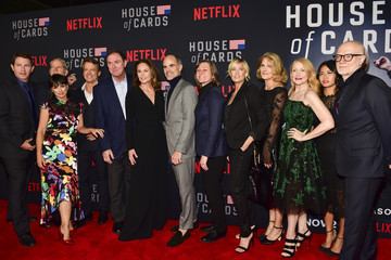 Boris McGiver Los Angeles Premiere Screening Of Netflix's 'House Of Cards' Season 6 - Red Carpet
