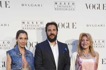 Borja Thyssen 'Vogue Like a Painting' Exhibition in Madrid