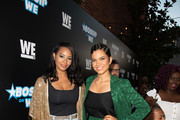 (L-R) Vanessa Simmons and Michele Weaver attend Bossip Best Dressed List Event on July 31, 2018 in Los Angeles, California.