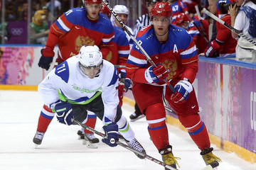 Bostjan Golicic Winter Olympics: Ice Hockey
