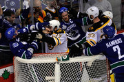 Zdeno Chara Alex Burrows Photos Photo