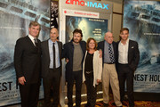 The Walt Disney Studios hosted a special 3D IMAX Screening of the Finest Hours for the US Coast Guard and local family, friends and supporters of the movie which was filmed in Quincy MA. Jim Whitaker, Craig Gillespie, Casey Affleck, Dorothy Aufiero, Melvin Gouthro and Chris Pine attend the screening of THE FINEST HOURS on January 28, 2016 in Boston, Massachusetts.